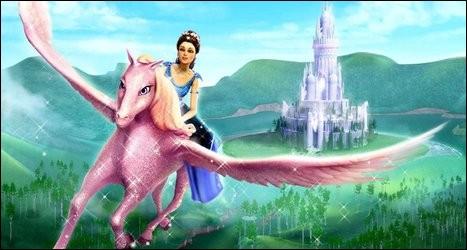 En quoi est le palais de Barbie ?