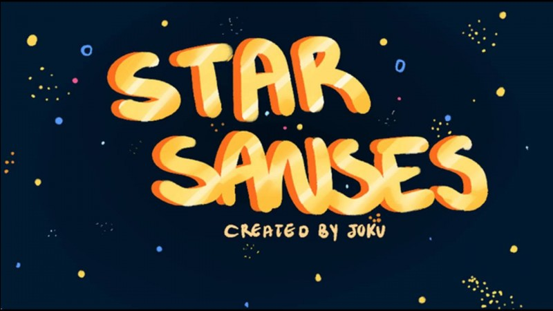 "Quels personnages forment ensemble le groupe ""The Star Sanses"" ?"