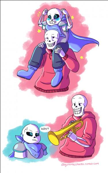 Dans quel univers Papyrus fait-il des blagues ?