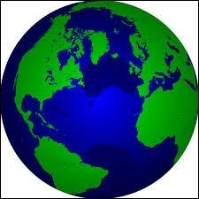 Sur quelle partie de la Terre se trouve le point de latitude 0° et de longitude 0° ?