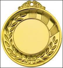 Merci d'avoir joué ce quiz, et n'oubliez pas de mettre une ... médaille d'or ! Merci.