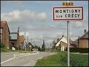 Le village Axonais de Montigny-sur-Crécy se situe en région ...