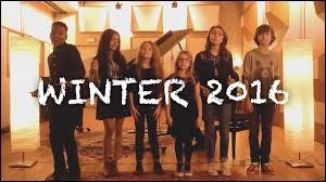 """Dans la vidéo """"Winter 2016"""", qui commence à chanter ?"""