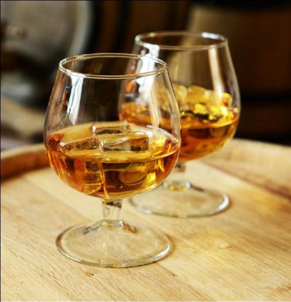 N'oubliez pas se lever votre verre (plein de cet alcool) à chaque fois que votre hôte porte un toast. Il se différencie d'un autre alcool par l'ajout de quelques saveurs !Quelle est cette eau-de-vie ?