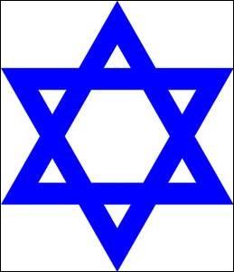 Ce signe religieux est l'étoile de David, elle appartient au :