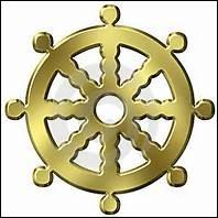 Vous l'avez peut-être reconnu, c'est la roue de Dharma.Elle appartient au :