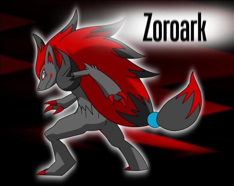 Quel pokémon évolue en zoroark ?