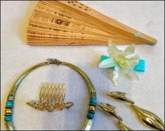 Trouve la princesse grâce au collier de perles de jade !