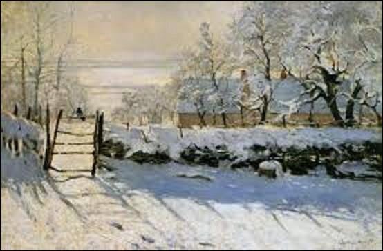 """Conservée au musée d'Orsay, """"La Pie"""" est une peinture à l'huile réalisée par un peintre impressionniste à Étretat entre 1868 et 1869. Appelée ainsi à cause de l'oiseau posé sur une clôture dans un paysage hivernal, quel artiste en est l'auteur ?"""