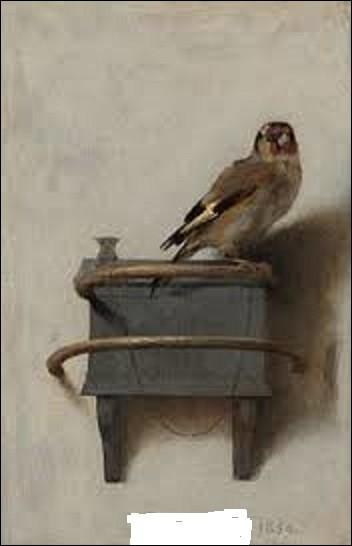 """Faisant partie du mouvement de l'âge d'or de la peinture néerlandaise, """"Le Chardonneret"""" est une petite huile sur panneau (33,5 cm x 22,8 cm) datant de 1654. Étant apparemment destiné à être utilisé comme plaque de maison pour une famille de La Haye du nom de """"De Putter"""" (nom de cet oiseau dans cette langue), quel peintre, dont très peu d'œuvres sont parvenues jusqu'à nous, a créé cette peinture ?"""