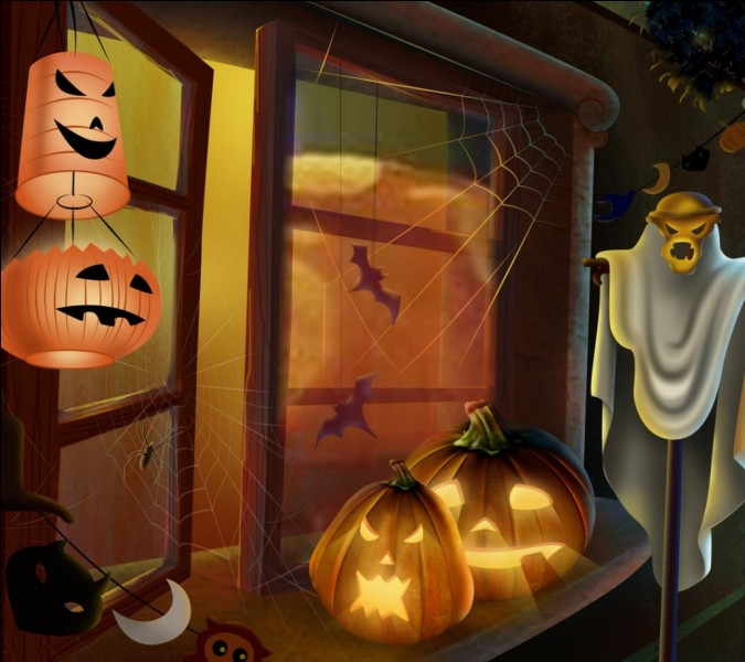 Recette gateau samain halloween