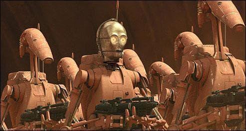 A qui appartient la tête de ce droïde ?