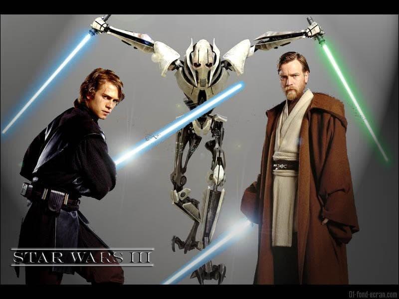 Qui est le personnage au centre de la photo, entre Anakin et Obi Wan Kenobi ?