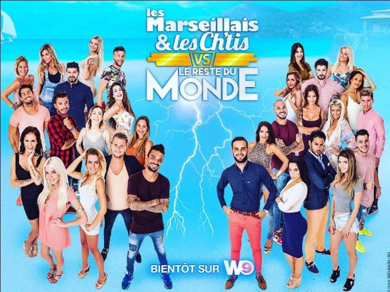 """Sur quelle chaîne voit-on la série """"Les Marseillais et les Ch'tis VS le reste du monde"""" ?"""
