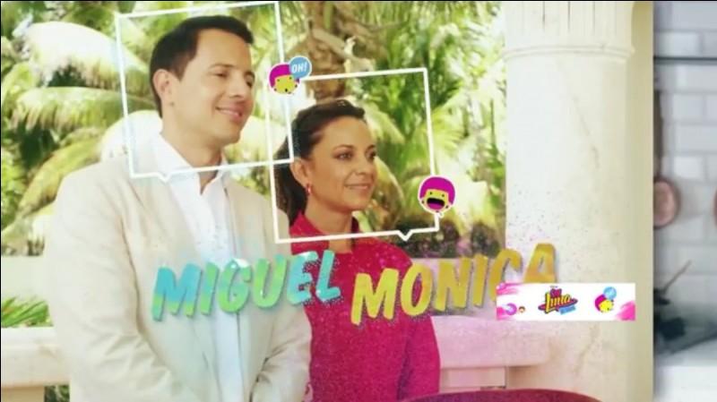 Où vivait Luna, Miguel et Monica avant de partir travailler chez les Benson ?