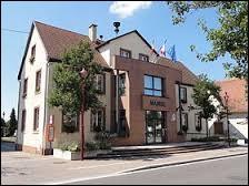 Ville Bas-Rhinoise, Kaltenhouse se situe dans l'ancienne région ...