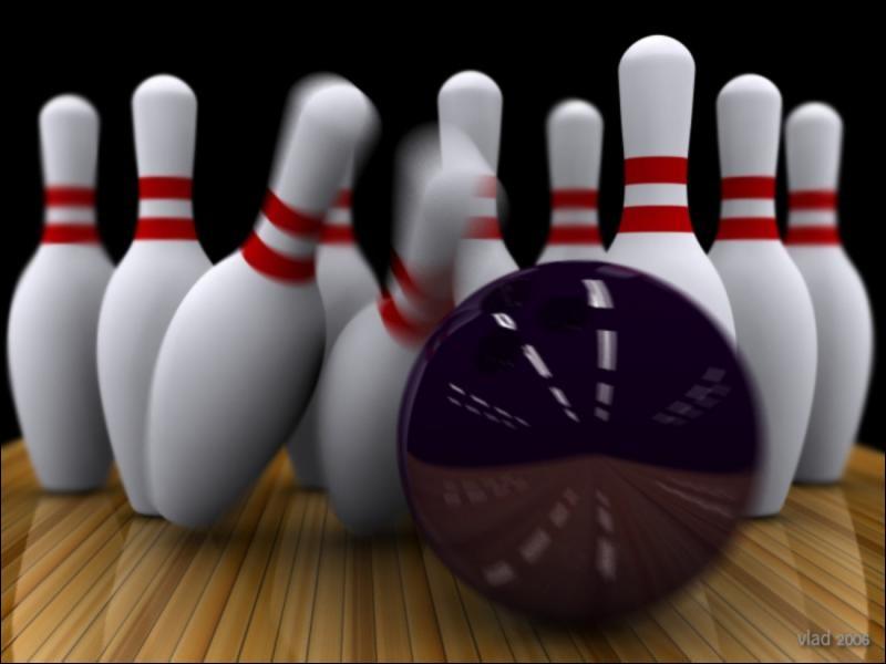 Au bowling, combien y a-t-il de quilles à renverser ?