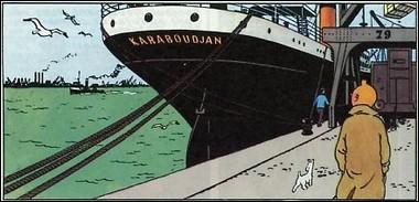 Quel est le nom du bateau du Capitaine Haddock ?