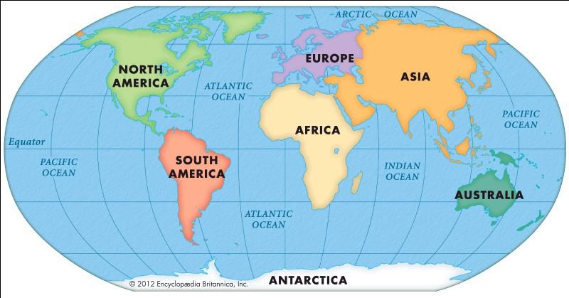 Sur quel continent se trouve la France ?
