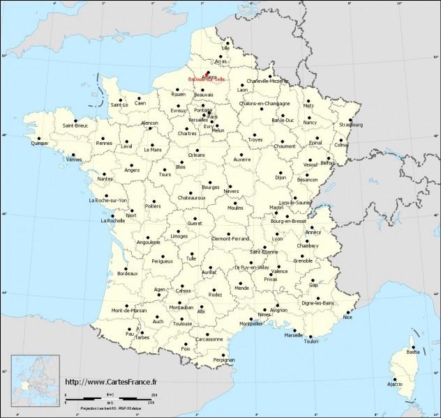 Laquelle de ces villes se trouve en France ?