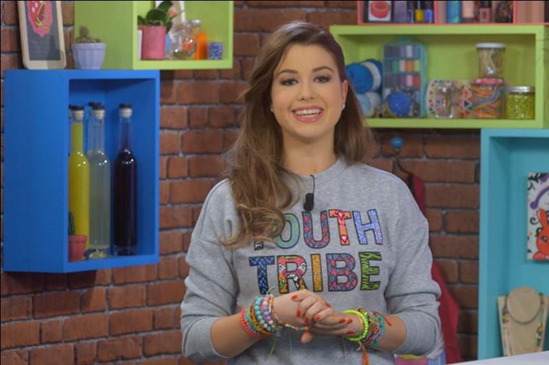 Comment s'appelle l'émission qu'elle anime sur Disney Channel ?