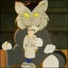 Quel est le nom du chat du Docteur Gang ?