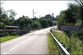 Commune Icaunaise, Venouse se situe dans la nouvelle région ...