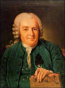 Quelle est la nationalité de Carl von Linné (1707 - 1778) ?