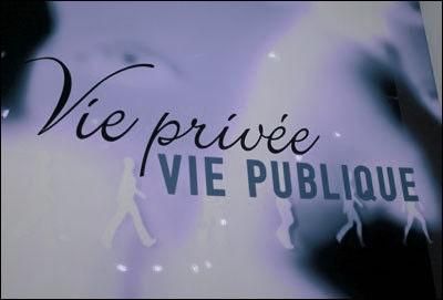"""Qui présentait l'émission """"Vie privée, vie publique"""" ?"""