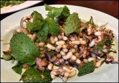 Dans le petit restaurant Noma à Copenhague, quels insectes servent à assaisonner la salade ?