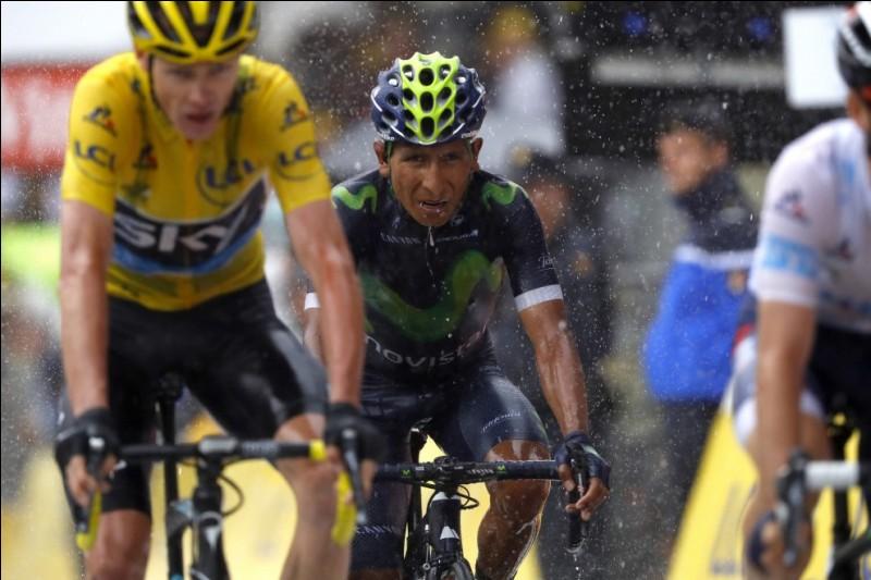 À part Christopher Froome, qui se trouve devant lui au classement général du Tour de France 2016 ?