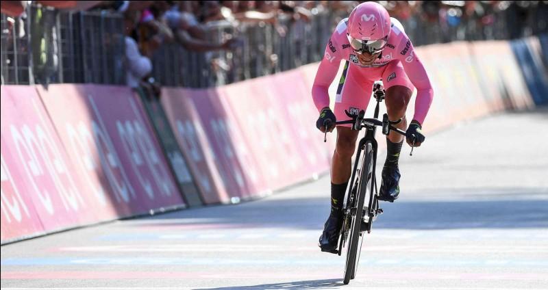 Qui prend le maillot rose à Nairo Quintana sur la dernière étape du tour d'Italie 2017 ?