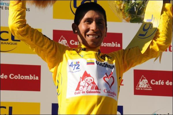 Allons directement en 2010 quand le Colombien change d'équipe. Nairo Quintana s'impose brillamment devant Andrew Talansky et son compatriote Jarlinson Pantano lors du Tour de l'Avenir. Combien d'étapes remportera-t-il dans cette course ?