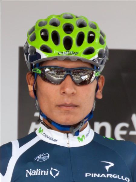 Quintana participe à son premier Grand Tour durant la saison 2012. Quel est-il ?