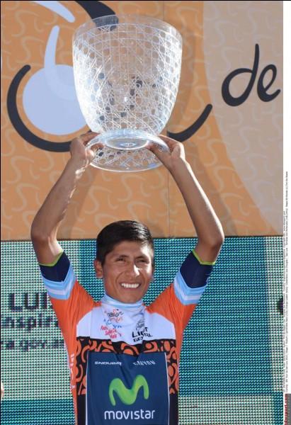 On est en 2014. Nairo Quintana a décidé de faire l'impasse sur le Tour de France et commence la saison par une victoire dans un tour d'une semaine. Dans quel pays était-ce ?