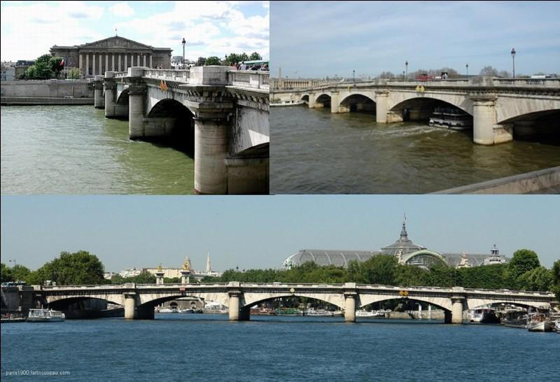 Ce pont parisien devait recevoir 8 statues représentant 8 généraux du 1e Empire. Mais, à la chute de Napoléon 1e, 12 autres statues de personnalités devaient être installées. Elles ne le furent pas. Mais, ce pont à une autre caractéristique très… révolutionnaire.Quel est ce pont et quelle est cette caractéristique ?