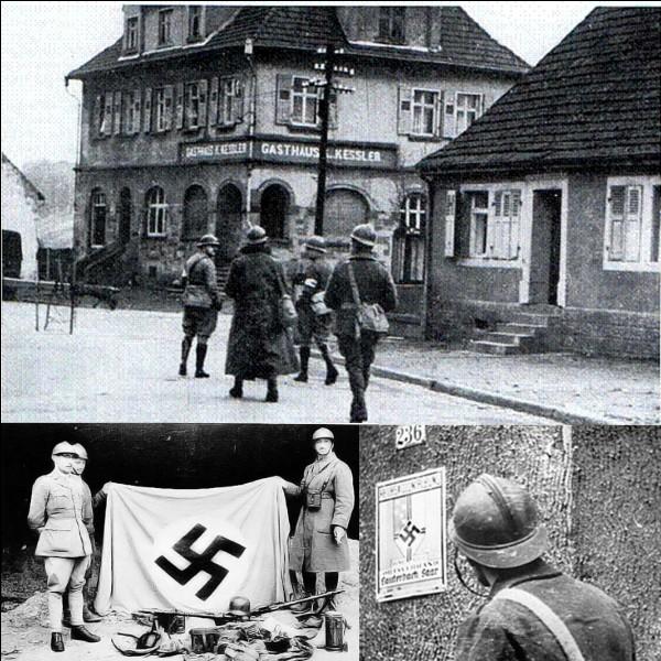 Pendant la 2e Guerre mondiale, qu'elle a été la première force alliée à avoir pénétré dans le territoire allemand ?