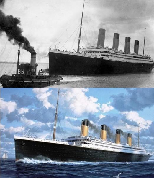 Vous connaissez l'histoire tragique du « Titanic » qui a sombré en 1912. Mais savez-vous à quoi servaient les quatre cheminées de ce navire ?
