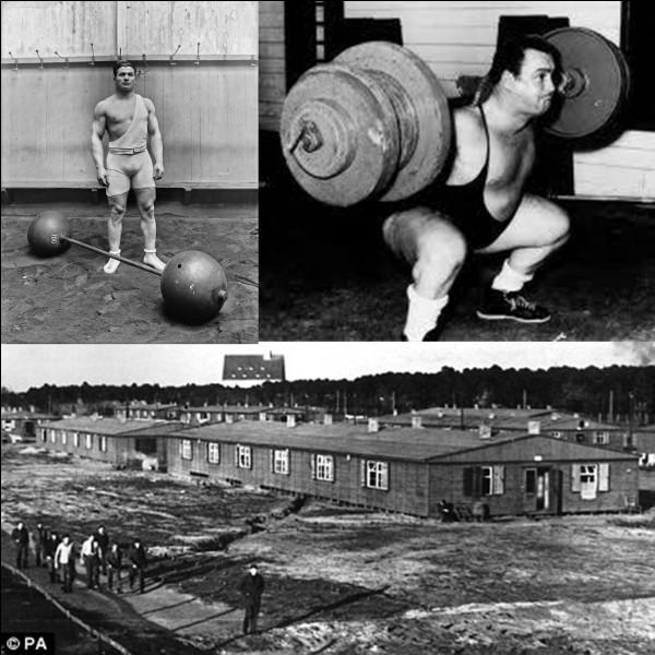 Charles Rigoulot était un haltérophile français qui a été prisonnier de guerre et requis pour le STO pendant la 2e Guerre mondiale. Il tenta de s'évader.Comment a-t-il fait pour réaliser cette évasion ?