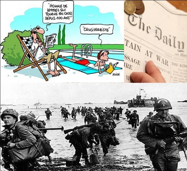 Un mois avant le débarquement en Normandie (06 juin 1944), le commandement allié eut une très mauvaise surprise. Les services de sécurité britanniques s'inquiétèrent, un événement venait de leur faire croire que certains secrets avaient été découverts par les Allemands.Quel en est la raison ?