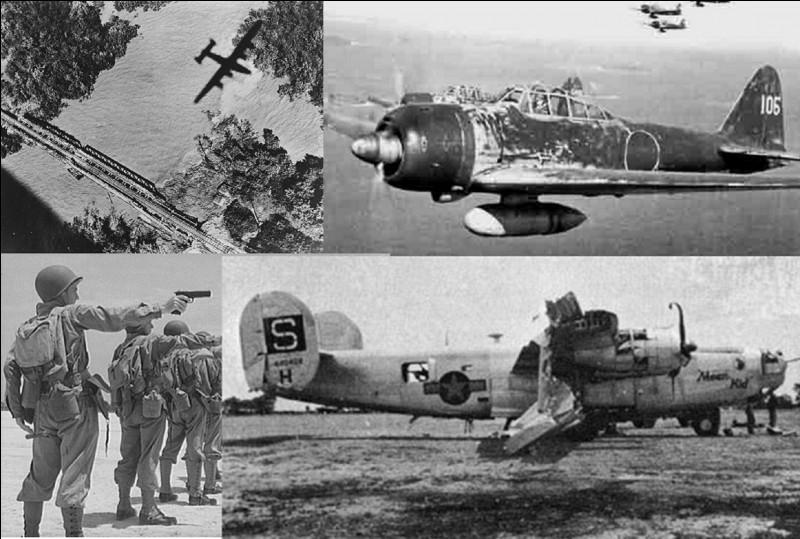 Au cours de la guerre du Pacifique, le lieutenant Owen Baggett a réussi un « fait de guerre » probablement unique dans le monde. Ce lieutenant était un lieutenant de L'USAAF basé en Inde et était pilote d'un bombardier.Quel « exploit » a-t-il réalisé ?