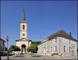 Village Haut-Rhinois, dans le Sundgau, Oltingue se situe dans l'ancienne région ...