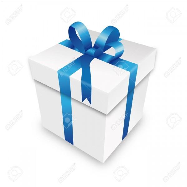 Qu'aimerais-tu recevoir comme prochain cadeau ?