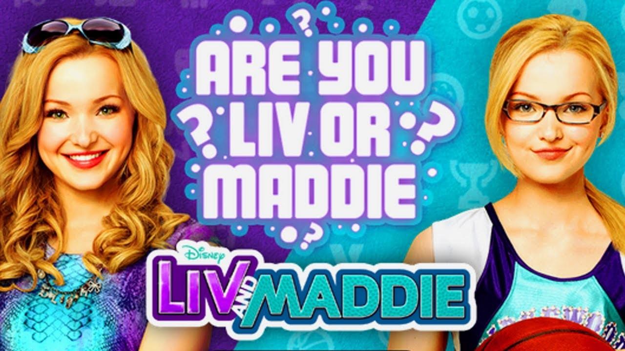 Es-tu Liv ou Maddie ?
