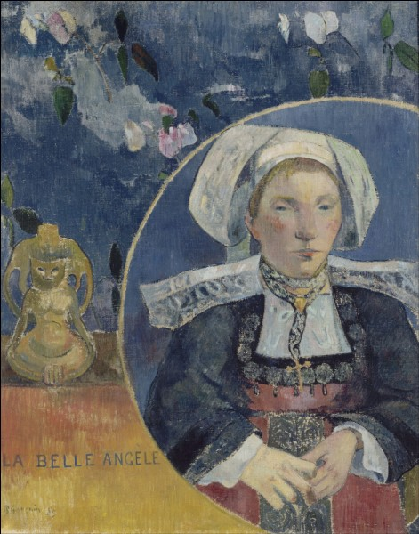 """""""La Belle Angèle"""", de Paul Gauguin, est le portrait d'une jeune femme réputée d'une grande beauté. Comment a été accueilli le tableau ?"""