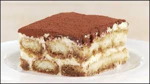 Dans ce tiramisu hmmm, mon dessert préféré...), quel fromage est utilisé ?