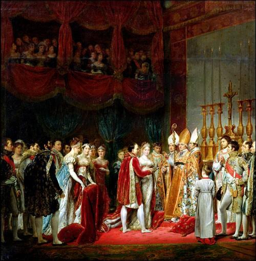 Avril 1810 : Napoléon 1er prépare son mariage avec Marie-Louise d'Autriche. Mais le Louvre n'est pas prêt pour accueillir les 8 000 invités. De quoi menace-t-il les responsables de l'organisation ?