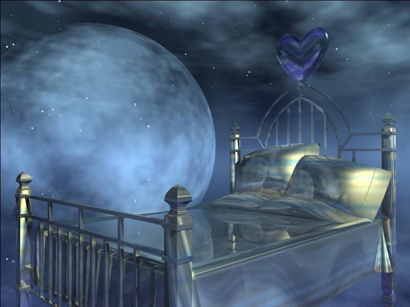 """Qui chantait """"Passer des nuits blanches à rêver ce que les contes de fée vous laissent imaginer"""" ?"""