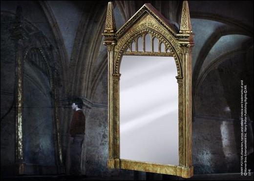 Que voit Harry dans le miroir du Riséd les premières fois ?