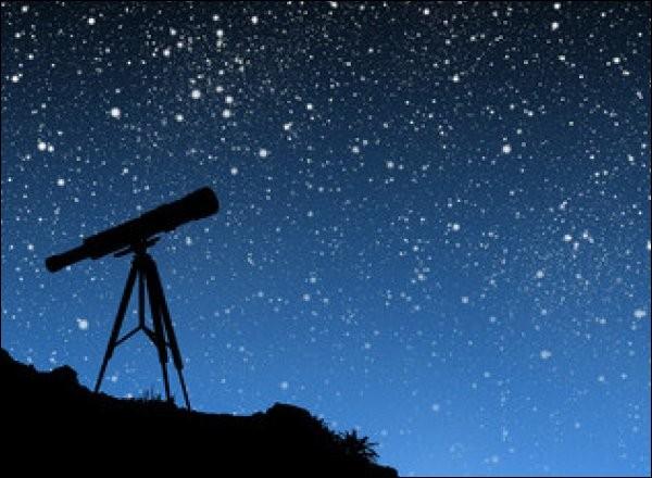 Le week-end dernier, je suis allée à l'observatoire les observer avec un :